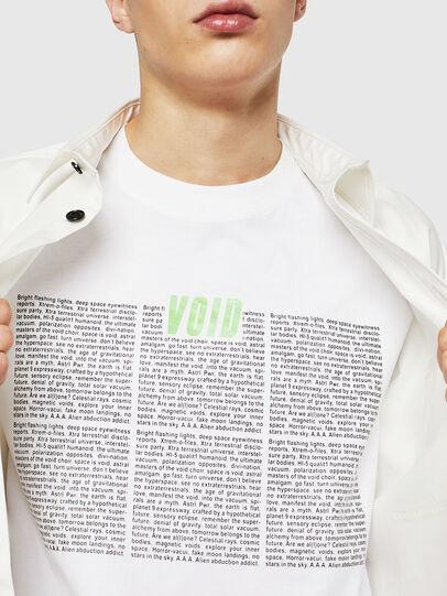 Diesel - T-JUST-LS-NEW, Bianco - T-Shirts - Image 3