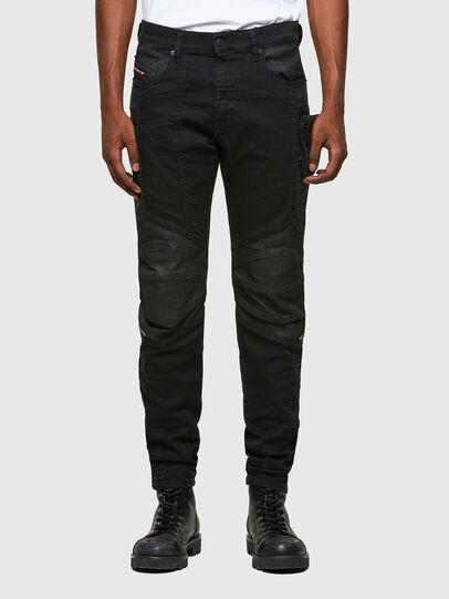 Diesel - D-Strukt 069TH, Nero/Grigio scuro - Jeans - Image 1