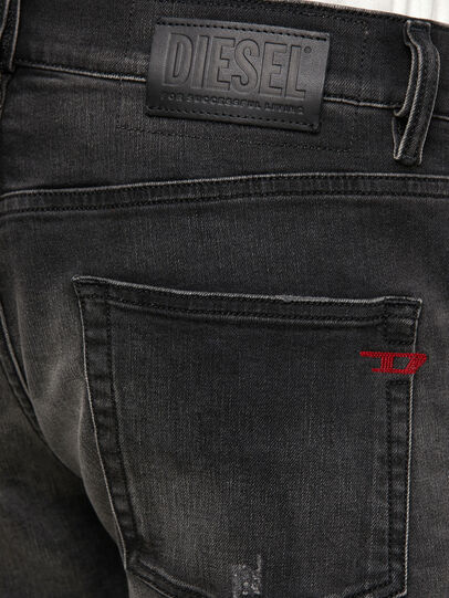 Diesel - D-Strukt 069RC, Nero/Grigio scuro - Jeans - Image 4