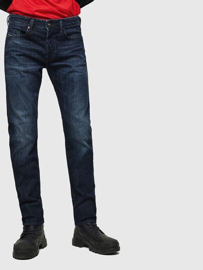 Diesel - Buster 0095W, Blu Scuro - Jeans - Image 1