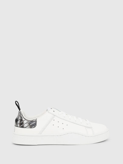 Diesel - S-CLEVER LOW W, Bianco/Argento - Sneakers - Image 1