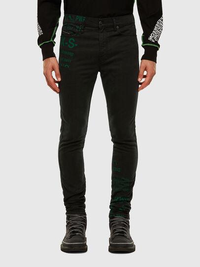 Diesel - D-Reeft JoggJeans 009HD, Nero/Grigio scuro - Jeans - Image 1