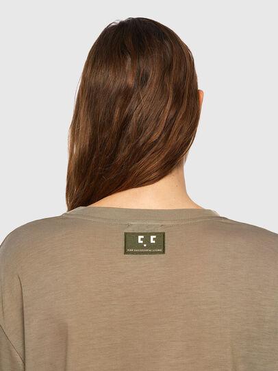 Diesel - T-ENKA-C.C, Marrone Chiaro - T-Shirts - Image 3