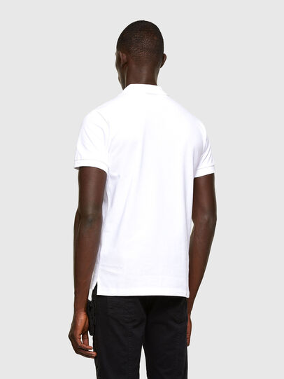 Diesel - T-RANDY-NEW-A2, Bianco - Polo - Image 3