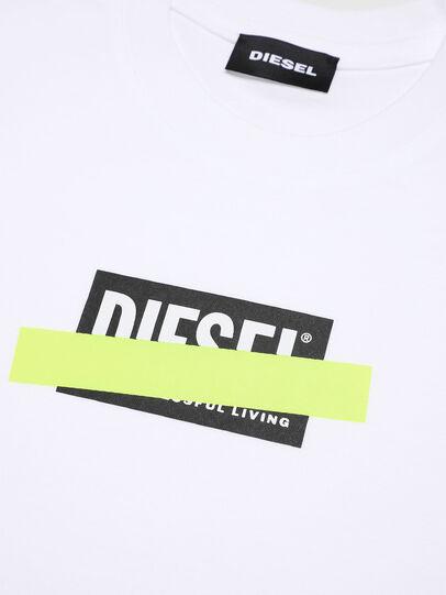 Diesel - TJUSTDIXB-R, Bianco - T-shirts e Tops - Image 3