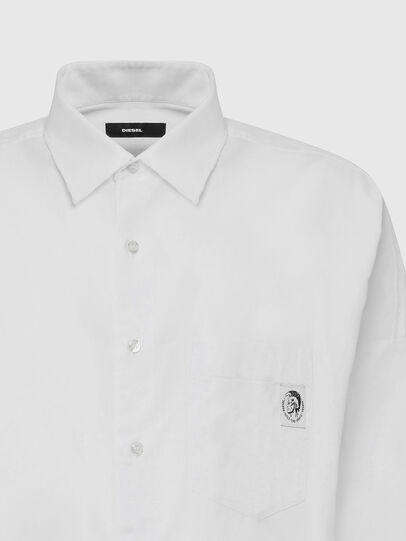 Diesel - S-LOOMY-A, Bianco - Camicie - Image 3
