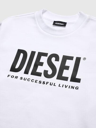 Diesel - SCREWDIVISION-LOGO O, Bianco - Felpe - Image 3