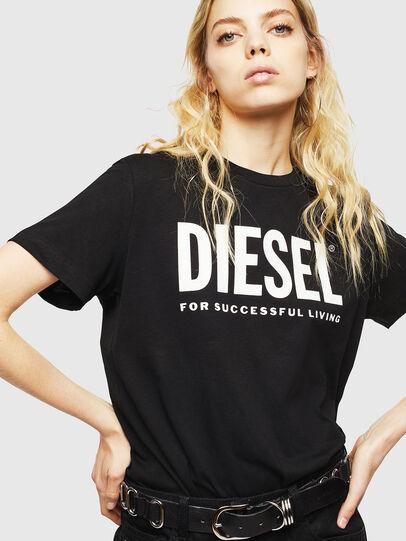 Diesel - T-DIEGO-LOGO, Nero - T-Shirts - Image 6