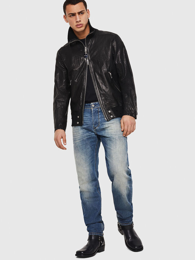 Diesel - Larkee-Beex 089AR, Blu Scuro - Jeans - Image 6