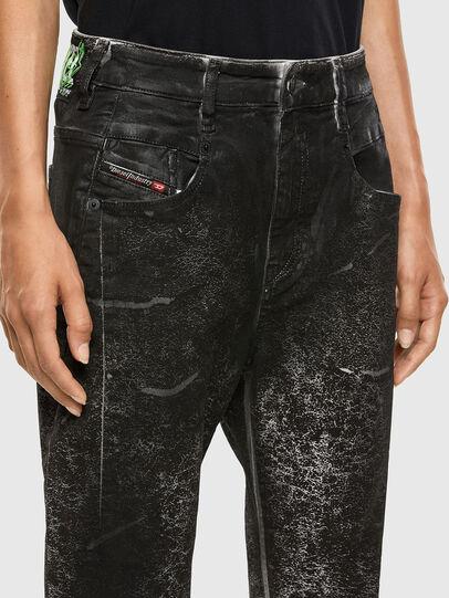 Diesel - Fayza 009DL, Nero/Grigio scuro - Jeans - Image 3
