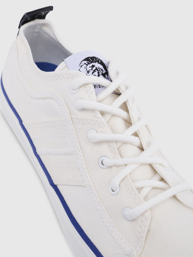 Diesel - S-ASTICO LC LOGO, Bianco Spento - Sneakers - Image 4