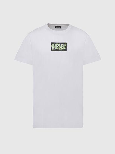 Diesel - T-DIEGOS-N34, Bianco - T-Shirts - Image 1