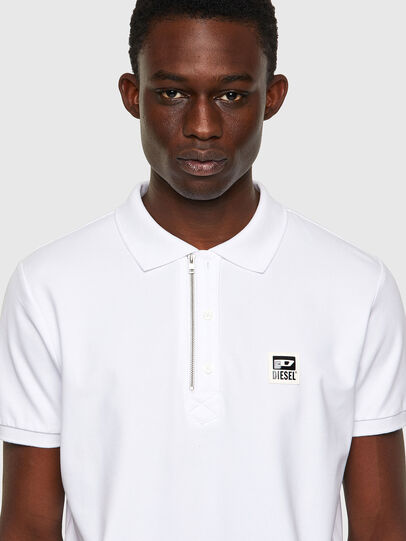 Diesel - T-HARRY, Bianco - Polo - Image 3