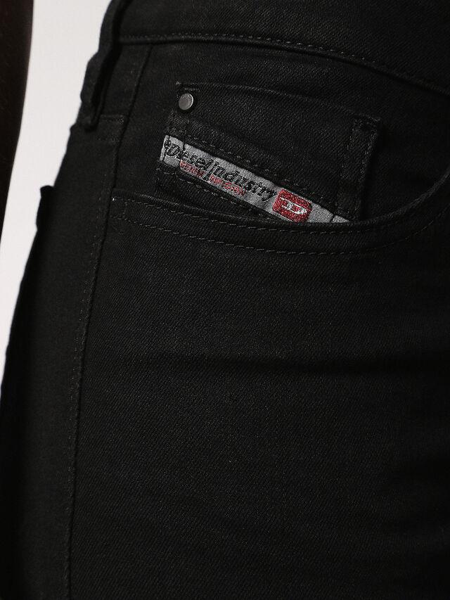 SKINZEE 0813E, Nero Jeans