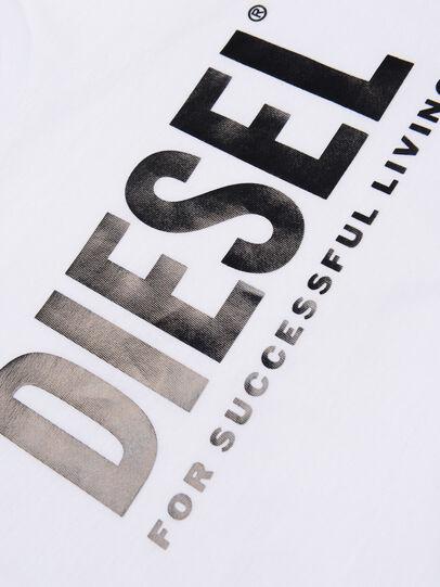 Diesel - TSILYWX, Bianco - T-shirts e Tops - Image 3