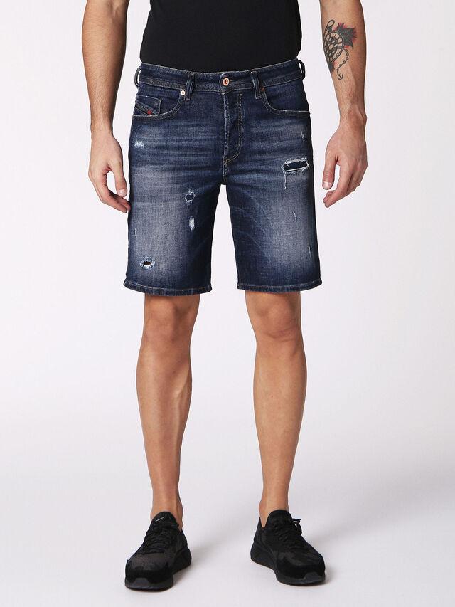 BUSTSHORT, Blu Jeans