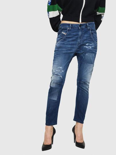 Diesel - Fayza JoggJeans 069HB, Blu medio - Jeans - Image 1