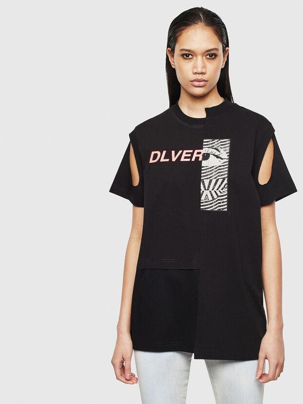 T-GOMEZ, Nero - T-Shirts