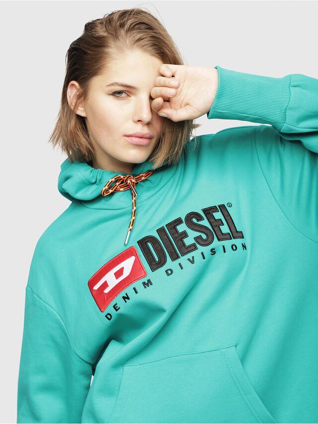 Diesel - D-ILSE-C, Verde Acqua - Vestiti - Image 4