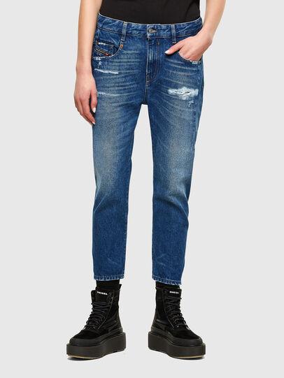 Diesel - Fayza 0079R, Blu medio - Jeans - Image 1