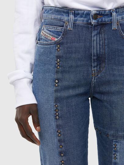 Diesel - D-Eiselle JoggJeans 009KP, Blu Chiaro - Jeans - Image 3