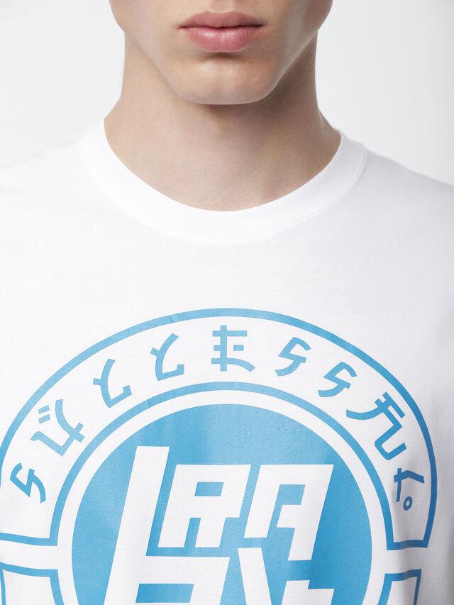 Diesel - T-DIEGO-XC, Bianco - T-Shirts - Image 3