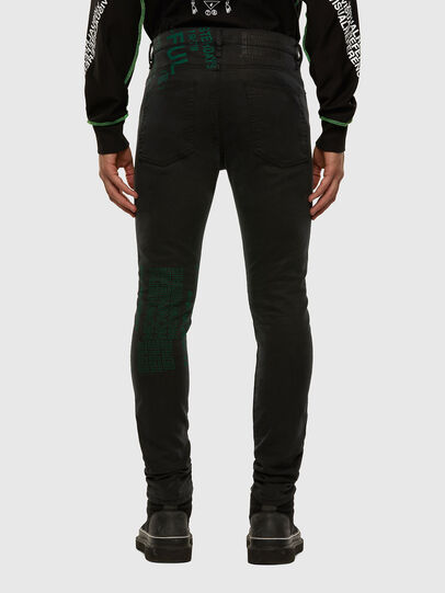 Diesel - D-REEFT JoggJeans® 009HD, Nero/Grigio scuro - Jeans - Image 2