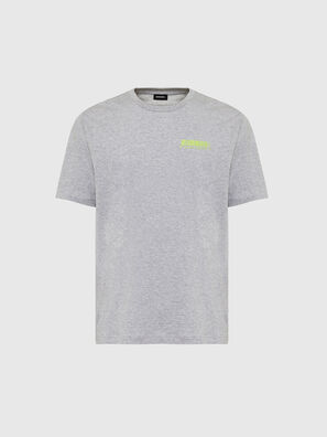 T-JUST-SLITS-X84, Grigio - T-Shirts