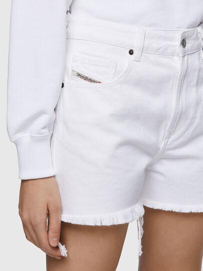 Diesel - DE-REG-R, Bianco - Shorts - Image 3