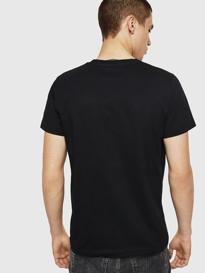 Diesel - T-DIEGO-A8, Nero - T-Shirts - Image 2