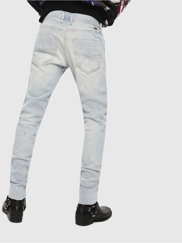 Diesel - Tepphar 081AK, Blu Chiaro - Jeans - Image 2