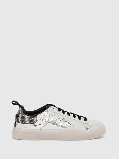 Diesel - S-CLEVER LOW LACE W, Argento - Sneakers - Image 1