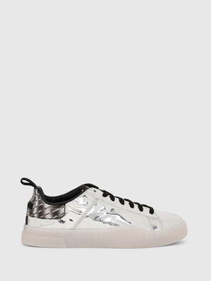 S-CLEVER LOW LACE W, Argento - Sneakers