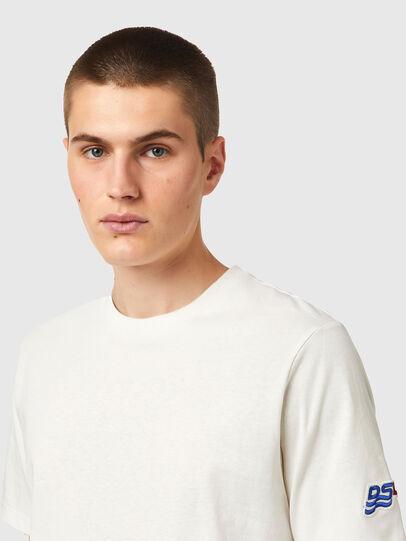 Diesel - T-JUST-B67, Bianco - T-Shirts - Image 3