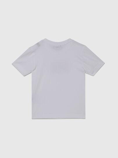 Diesel - TJUSTX62B-R, Bianco - T-shirts e Tops - Image 2