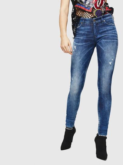 Diesel - Slandy 0090Q, Blu medio - Jeans - Image 1