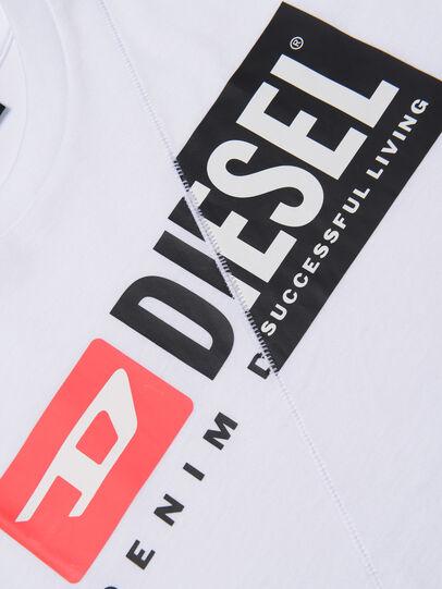 Diesel - TDIEGOCUTY, Bianco - T-shirts e Tops - Image 3