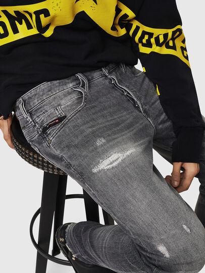 Diesel - D-Bazer 0890F, Grigio Chiaro - Jeans - Image 3