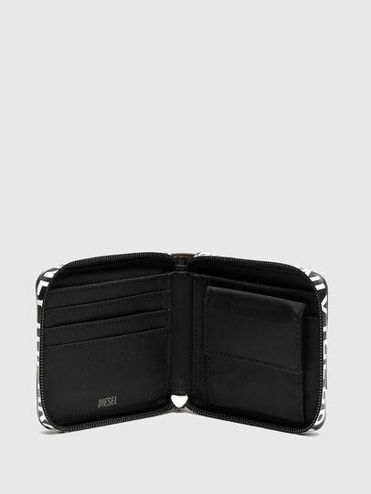 Diesel - HIRESH XS ZIPPI, Multicolor/Marrone - Portafogli Con Zip - Image 3