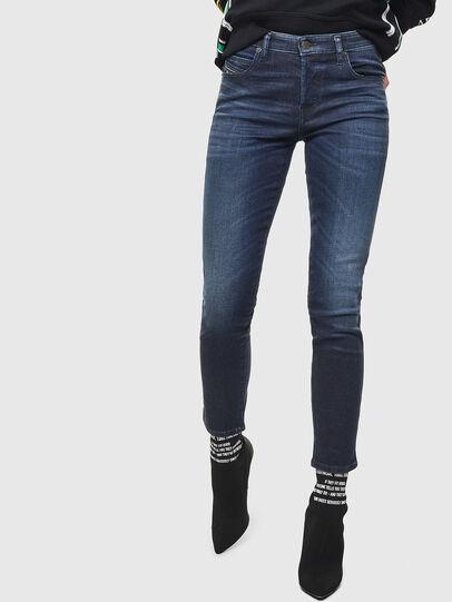 Diesel - Babhila 083AF, Blu Scuro - Jeans - Image 1