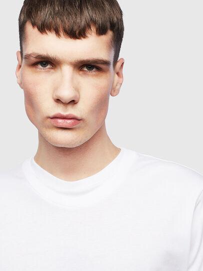 Diesel - T-HUSTY-LS, Bianco - T-Shirts - Image 5