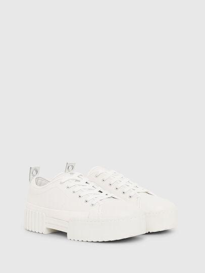 Diesel - S-MERLEY LC, Bianco - Sneakers - Image 2