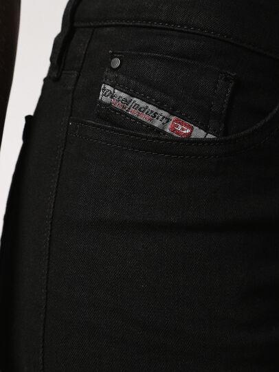 Diesel - Skinzee 0813E, Nero/Grigio scuro - Jeans - Image 4