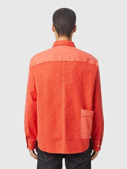 Diesel - D-HORU-SP JOGGJEANS, Arancione - Camicie in Denim - Image 2