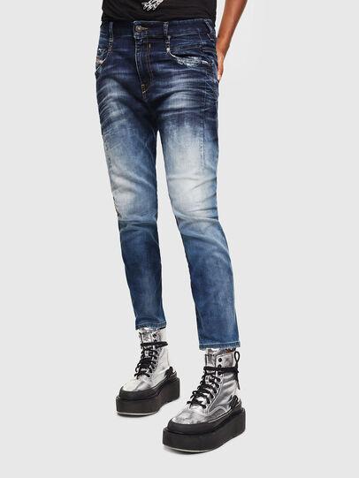 Diesel - Fayza JoggJeans 069KD, Blu Scuro - Jeans - Image 1