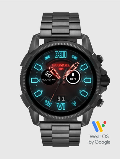 Diesel - DT2011, Grigio Metallizzato - Smartwatches - Image 1
