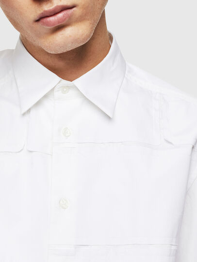 Diesel - S-AUDREY, Bianco - Camicie - Image 5
