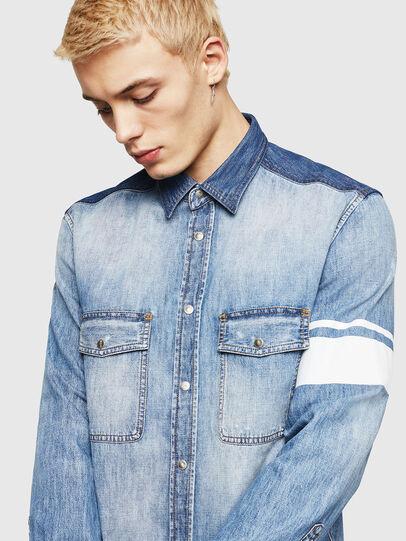 Diesel - D-MILLER, Blu Jeans - Camicie in Denim - Image 3