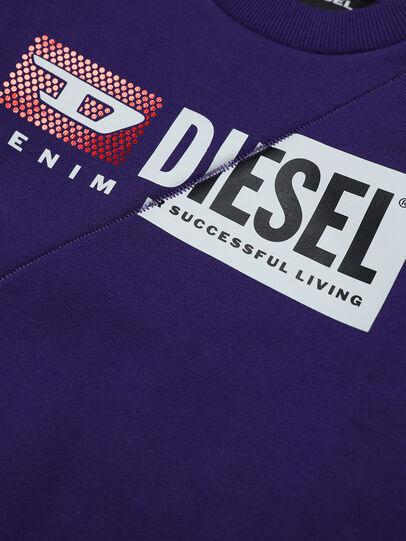 Diesel - SGIRKCUTYB-FL, Viola - Felpe - Image 3