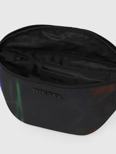 Diesel - F-SUSE BELT DM, Nero/Blu - Marsupi - Image 4